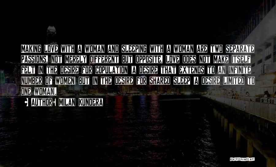 Number 1 Love Quotes By Milan Kundera