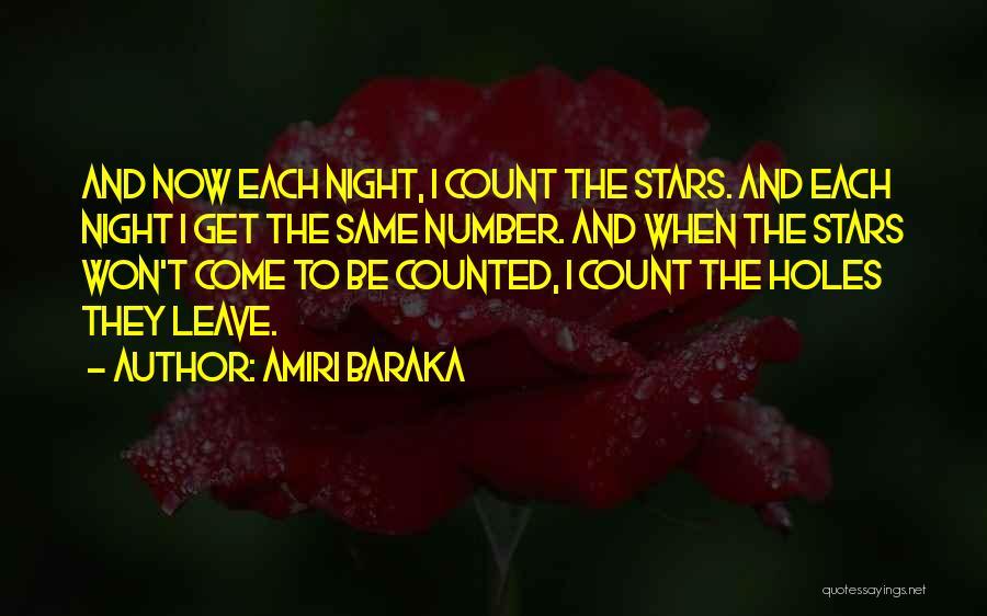 Number The Stars Quotes By Amiri Baraka
