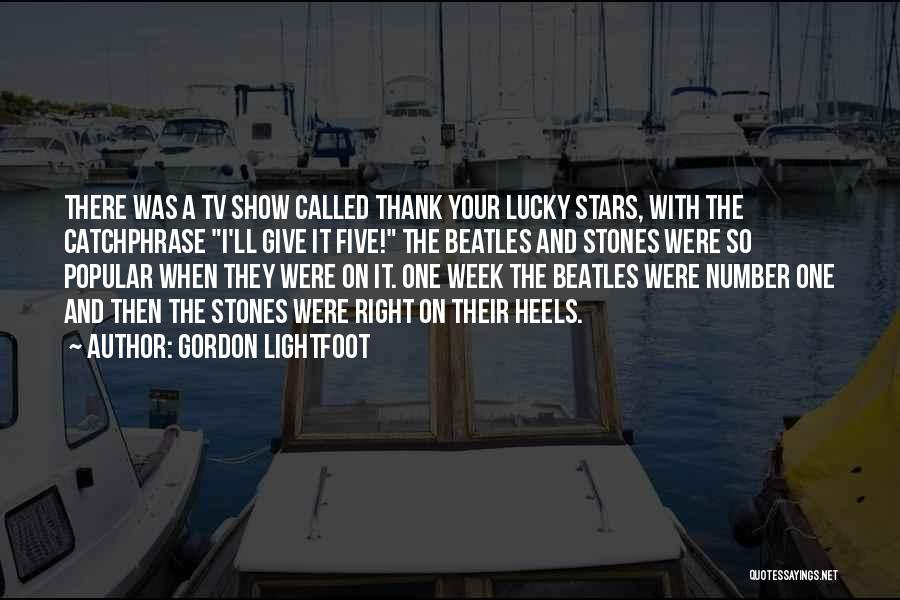 Number The Stars Quotes By Gordon Lightfoot