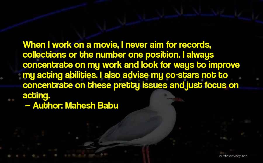 Number The Stars Quotes By Mahesh Babu
