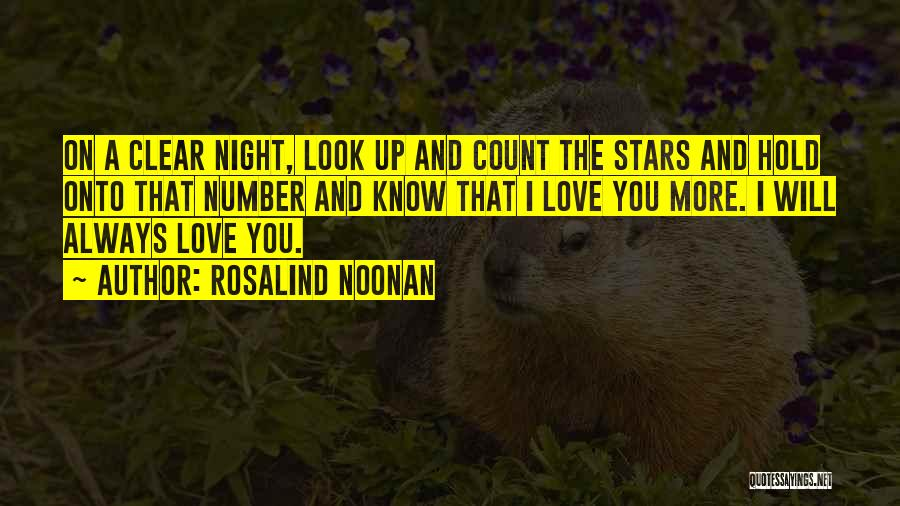 Number The Stars Quotes By Rosalind Noonan