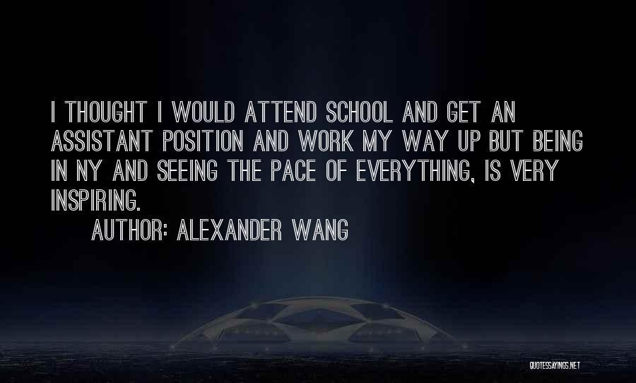 Ny Quotes By Alexander Wang