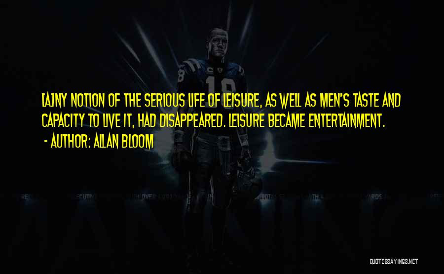 Ny Quotes By Allan Bloom