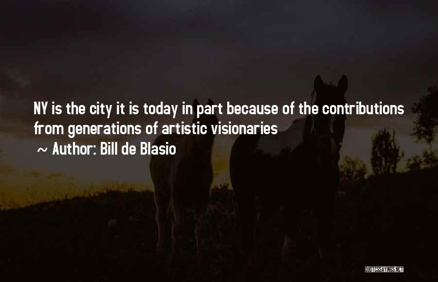 Ny Quotes By Bill De Blasio
