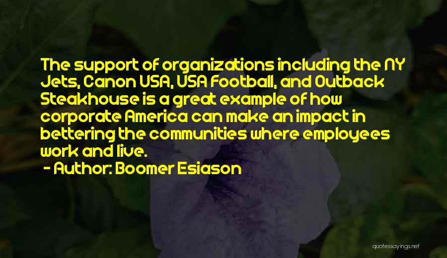 Ny Quotes By Boomer Esiason