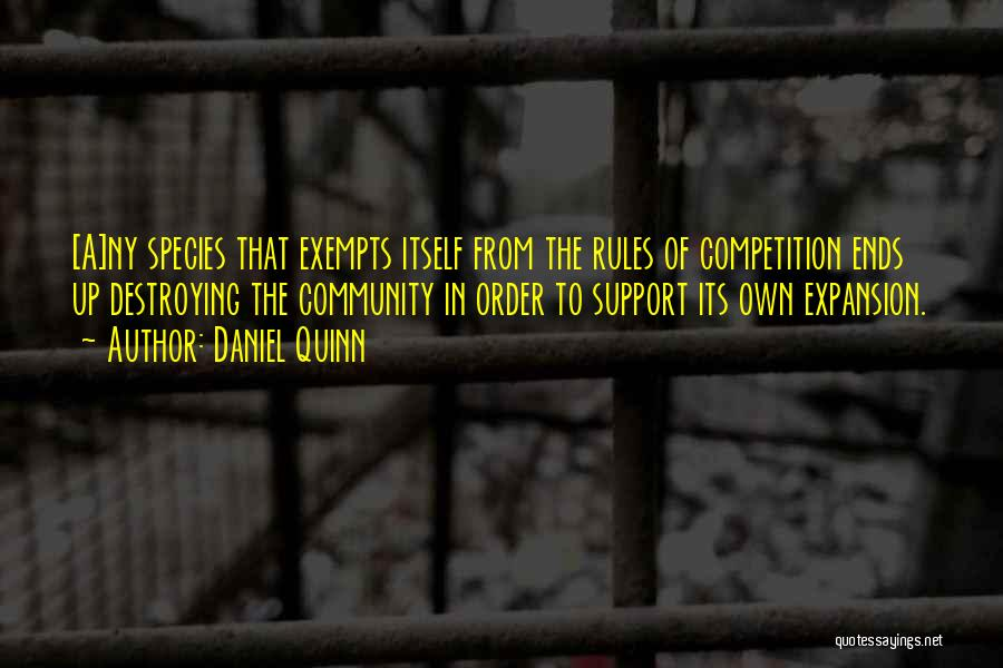 Ny Quotes By Daniel Quinn