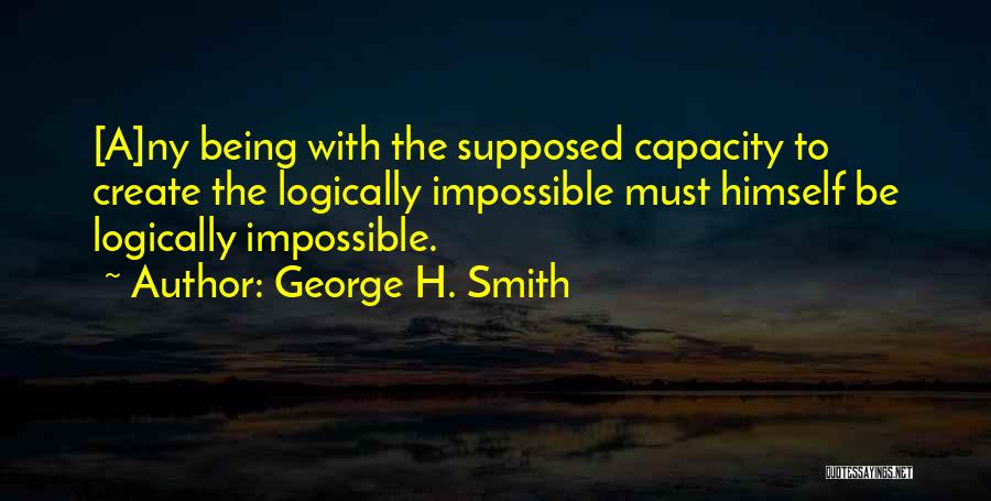 Ny Quotes By George H. Smith