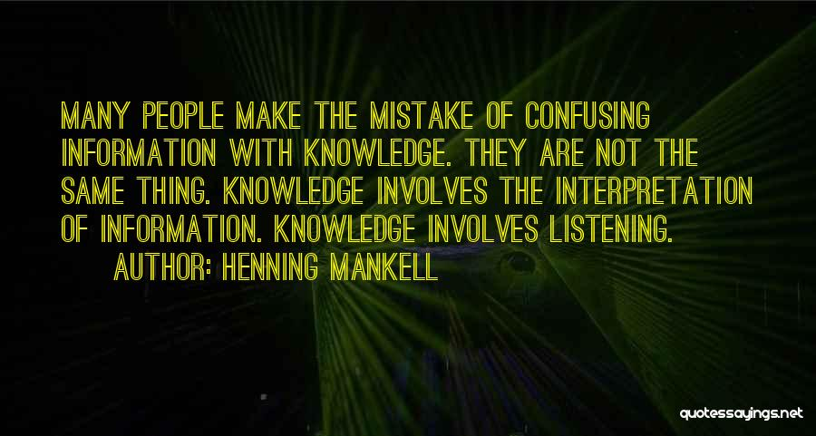 Ny Quotes By Henning Mankell