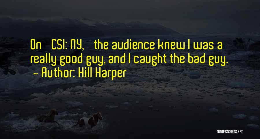 Ny Quotes By Hill Harper