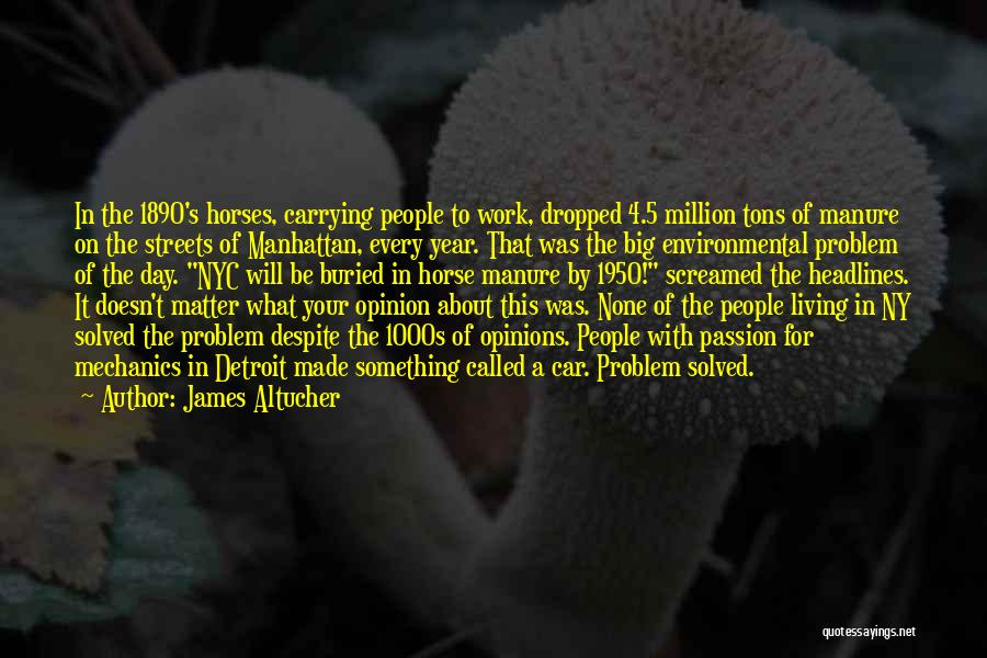Ny Quotes By James Altucher