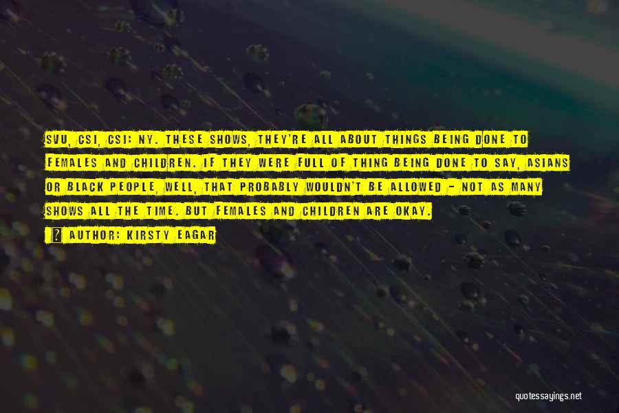 Ny Quotes By Kirsty Eagar