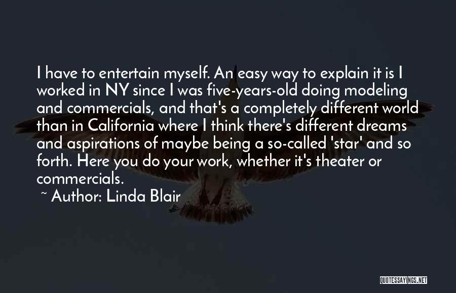 Ny Quotes By Linda Blair