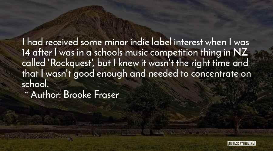 Nz Quotes By Brooke Fraser