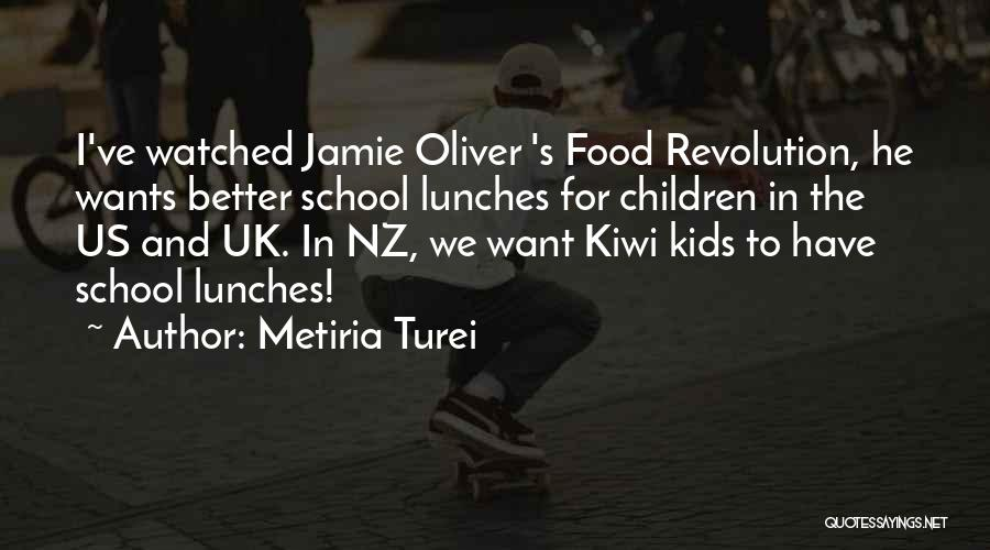 Nz Quotes By Metiria Turei