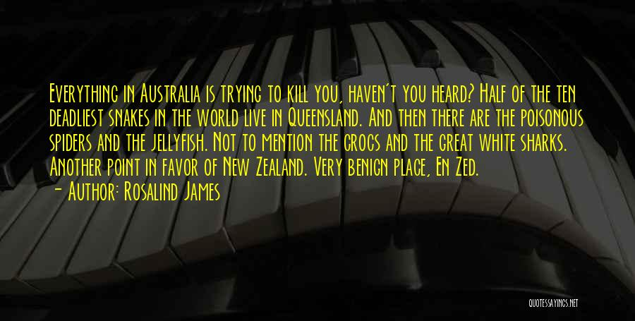 Nz Quotes By Rosalind James