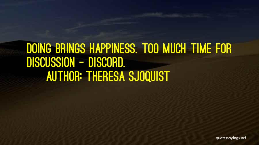 Nz Quotes By Theresa Sjoquist