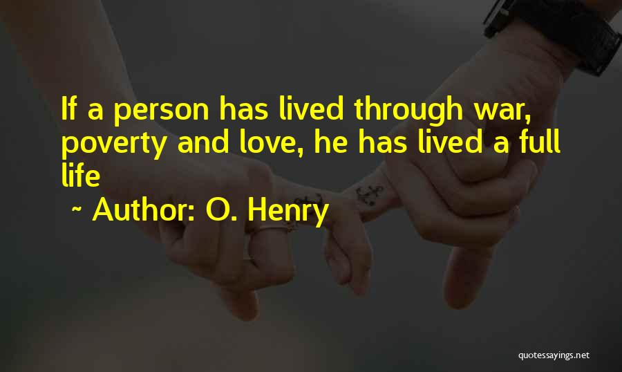O. Henry Quotes 541853