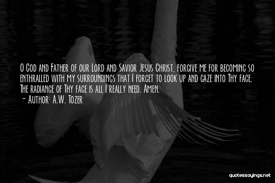 O My God Quotes By A.W. Tozer