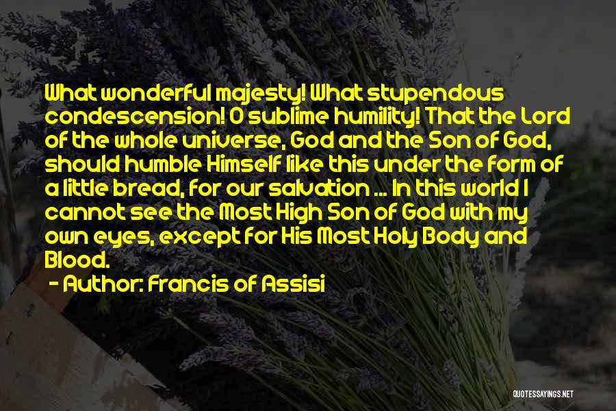 O My God Quotes By Francis Of Assisi