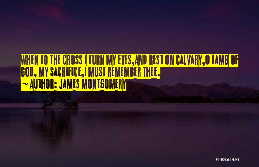 O My God Quotes By James Montgomery