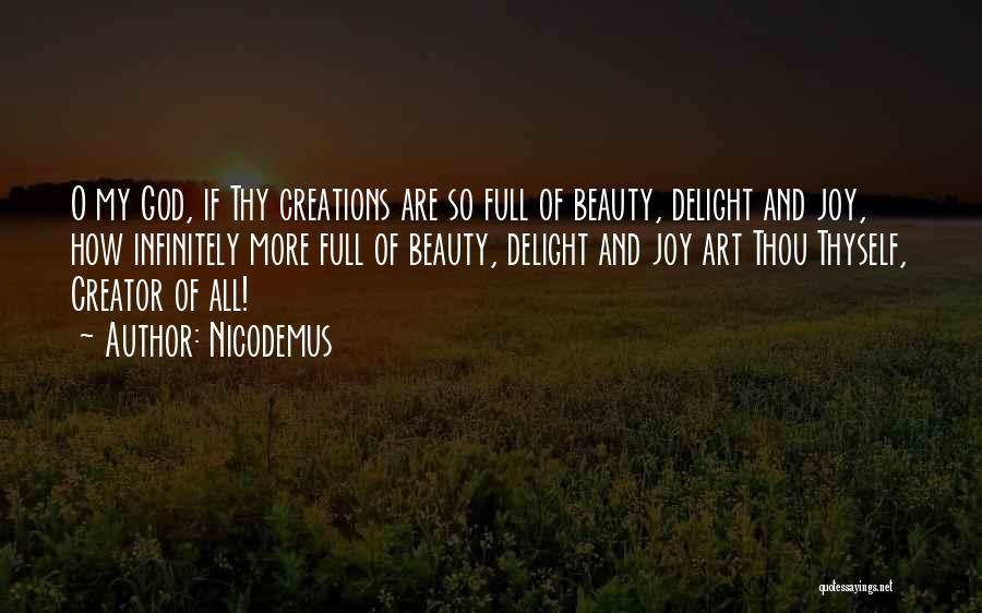 O My God Quotes By Nicodemus