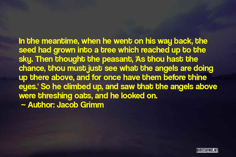 Oats Quotes By Jacob Grimm