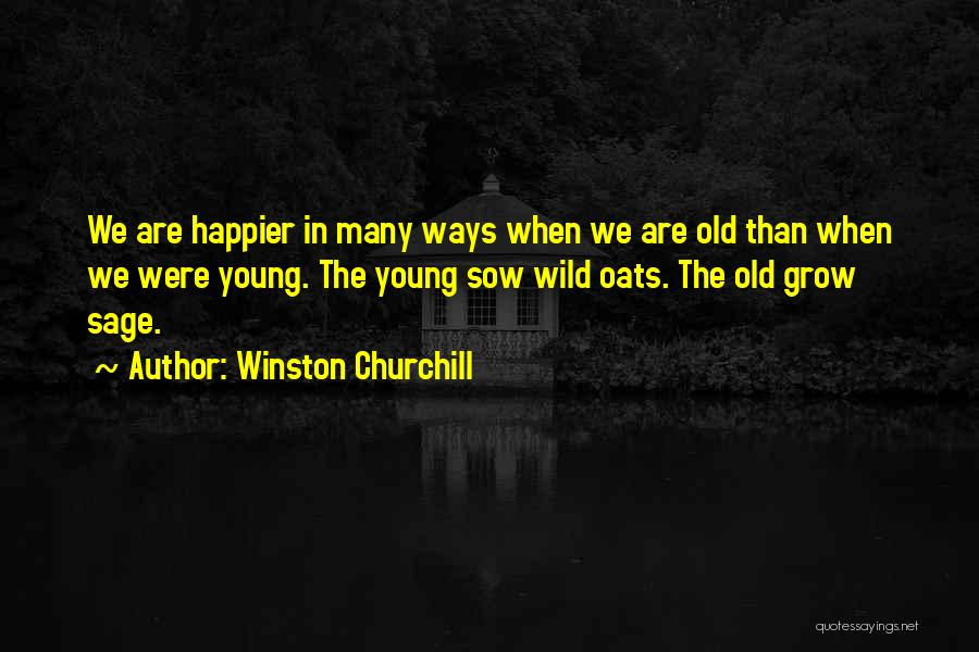 Oats Quotes By Winston Churchill