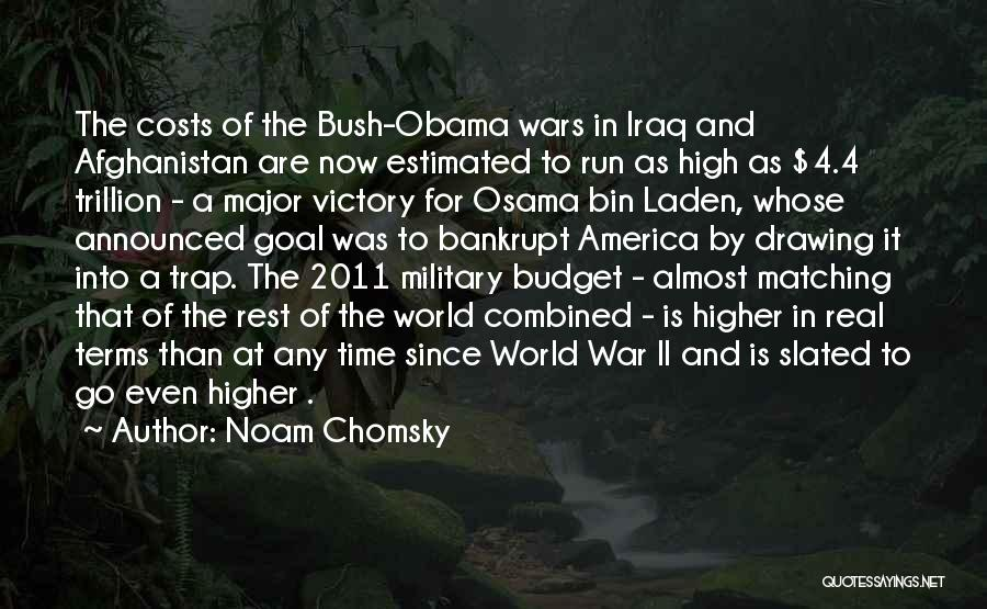 Obama Afghanistan Quotes By Noam Chomsky