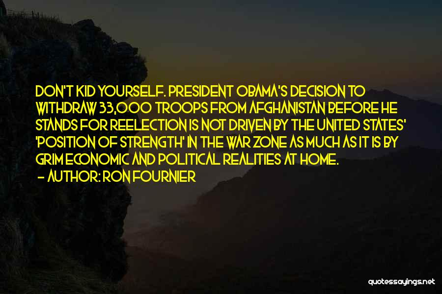 Obama Afghanistan Quotes By Ron Fournier