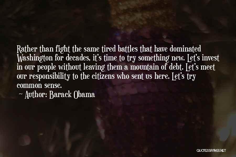 Obama Leaving Quotes By Barack Obama
