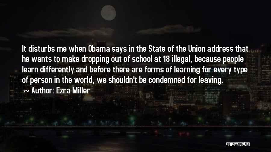 Obama Leaving Quotes By Ezra Miller