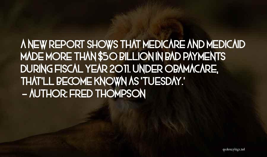 Obamacare Quotes By Fred Thompson