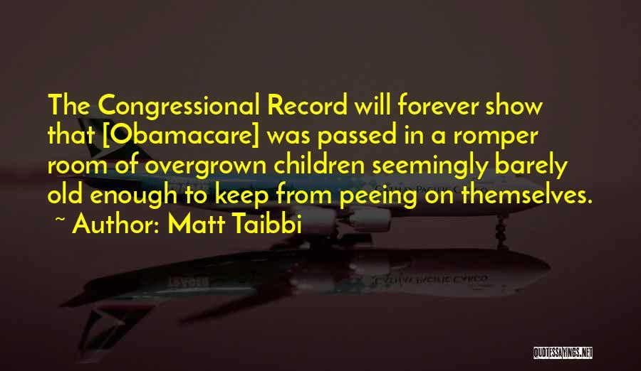 Obamacare Quotes By Matt Taibbi