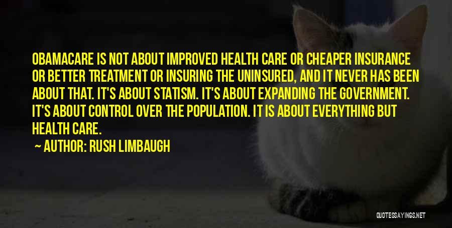 Obamacare Quotes By Rush Limbaugh