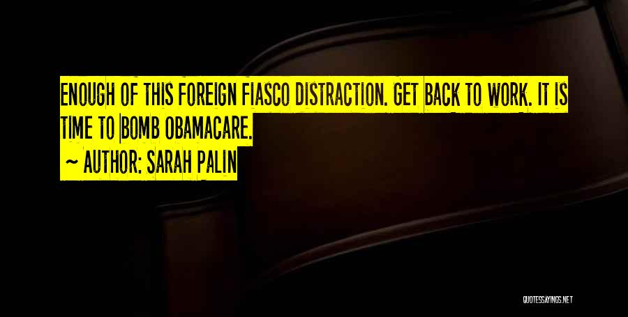 Obamacare Quotes By Sarah Palin