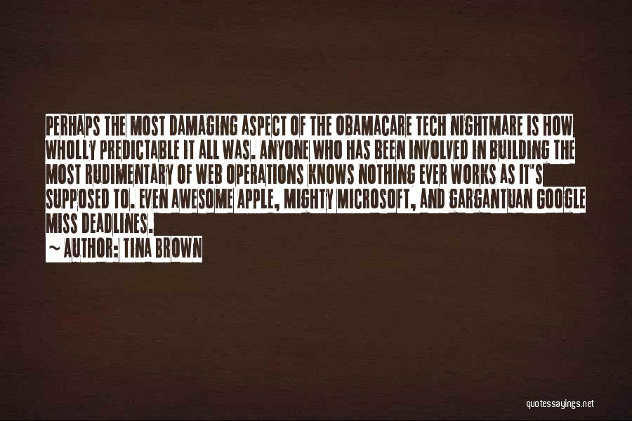 Obamacare Quotes By Tina Brown