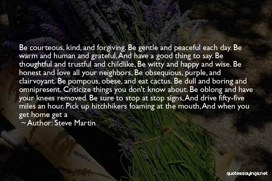 Oblong Quotes By Steve Martin