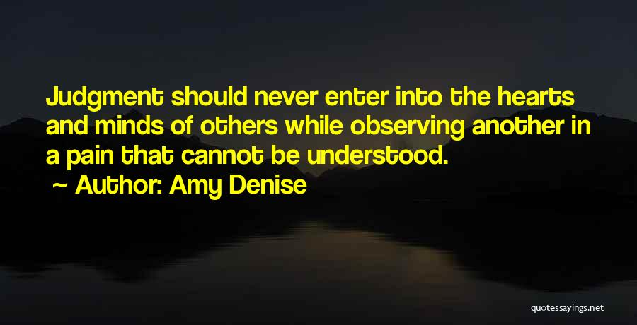 Observing Love Quotes By Amy Denise