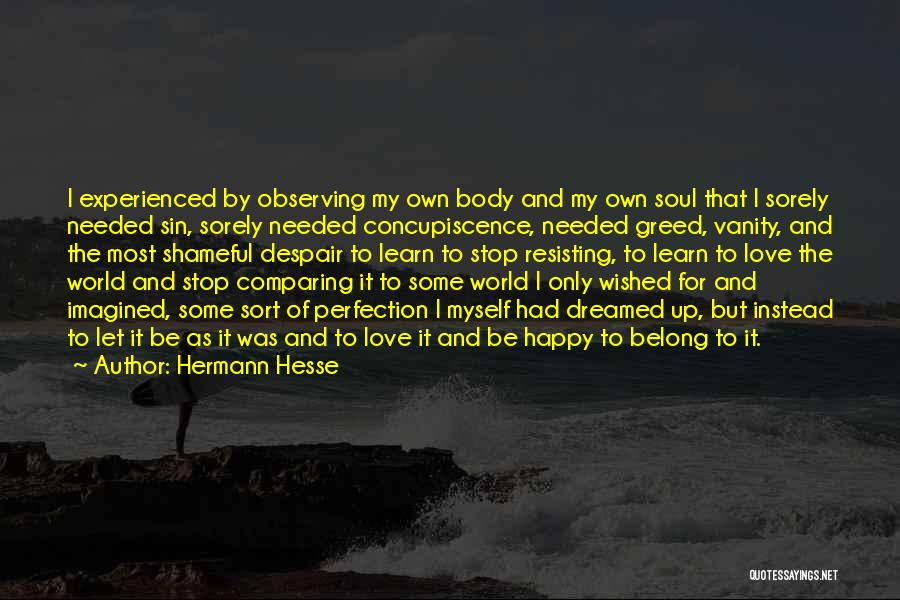 Observing Love Quotes By Hermann Hesse