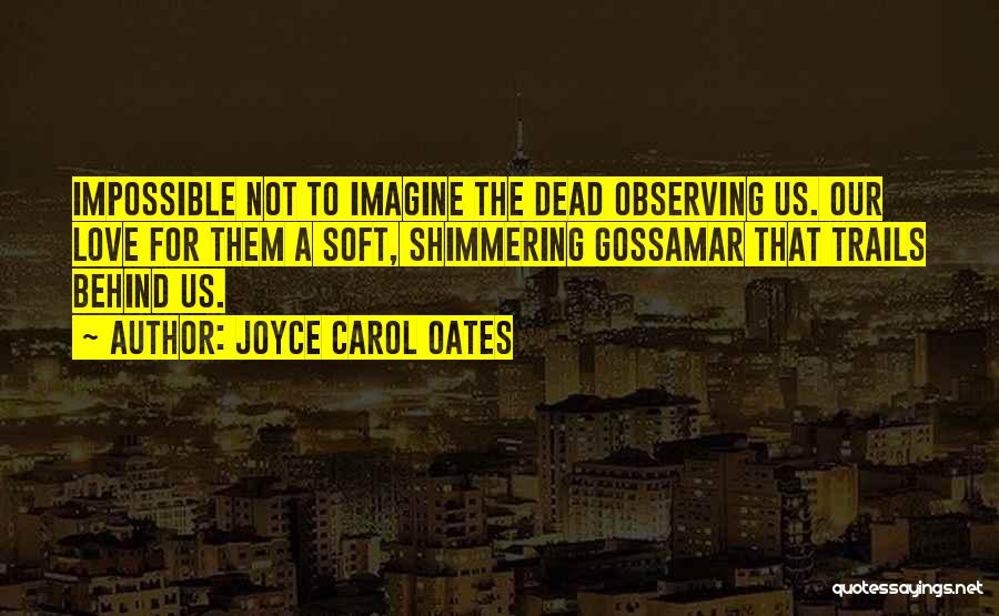 Observing Love Quotes By Joyce Carol Oates