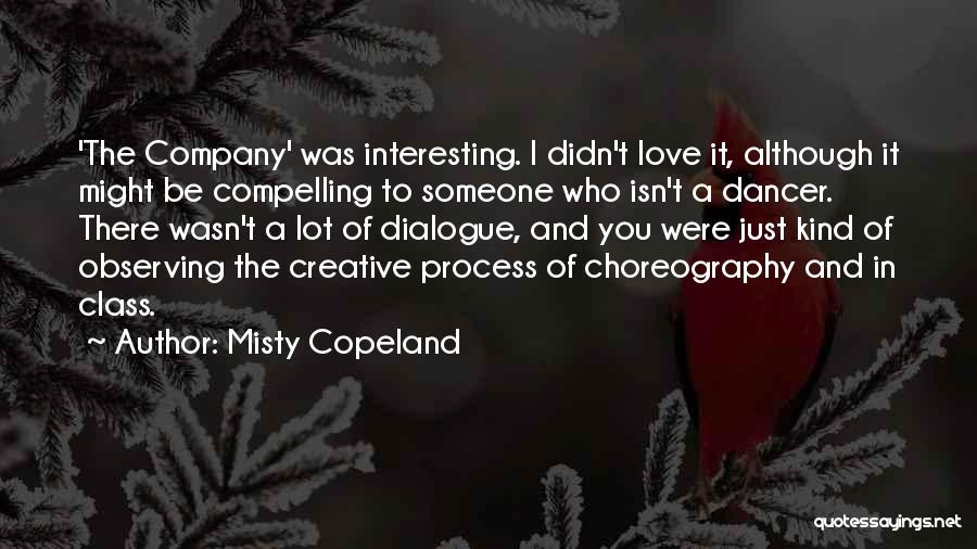 Observing Love Quotes By Misty Copeland