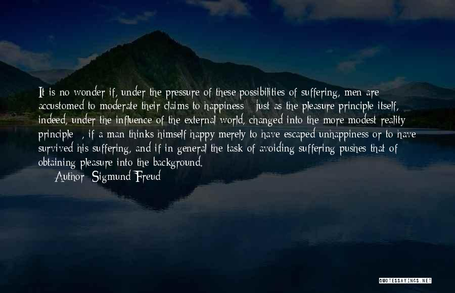 Obtaining Happiness Quotes By Sigmund Freud