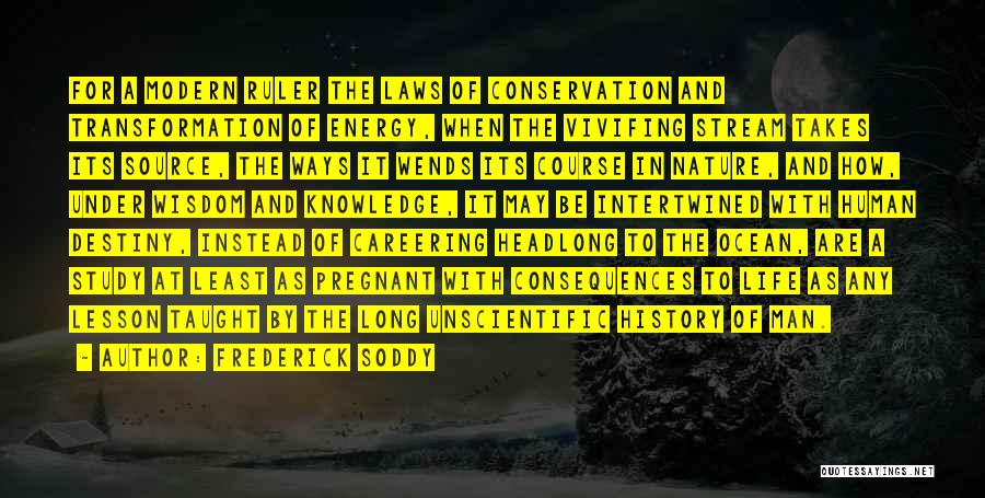 Ocean Conservation Quotes By Frederick Soddy