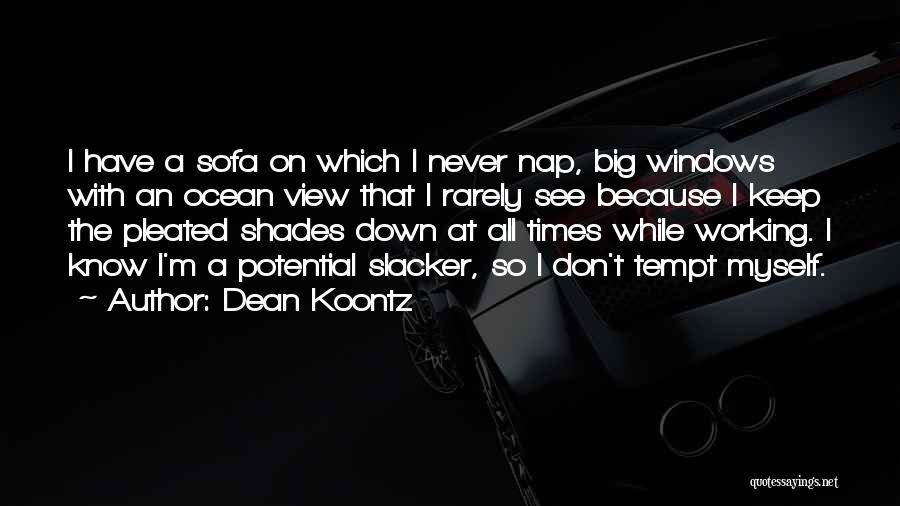 Ocean Views Quotes By Dean Koontz