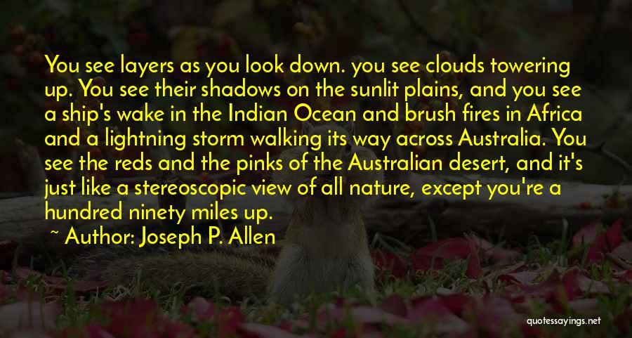 Ocean Views Quotes By Joseph P. Allen