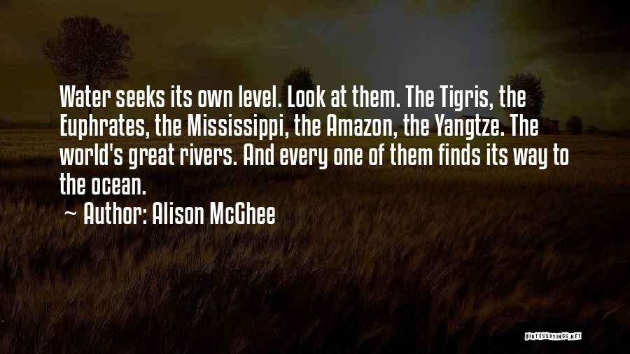 Ocean Water Quotes By Alison McGhee
