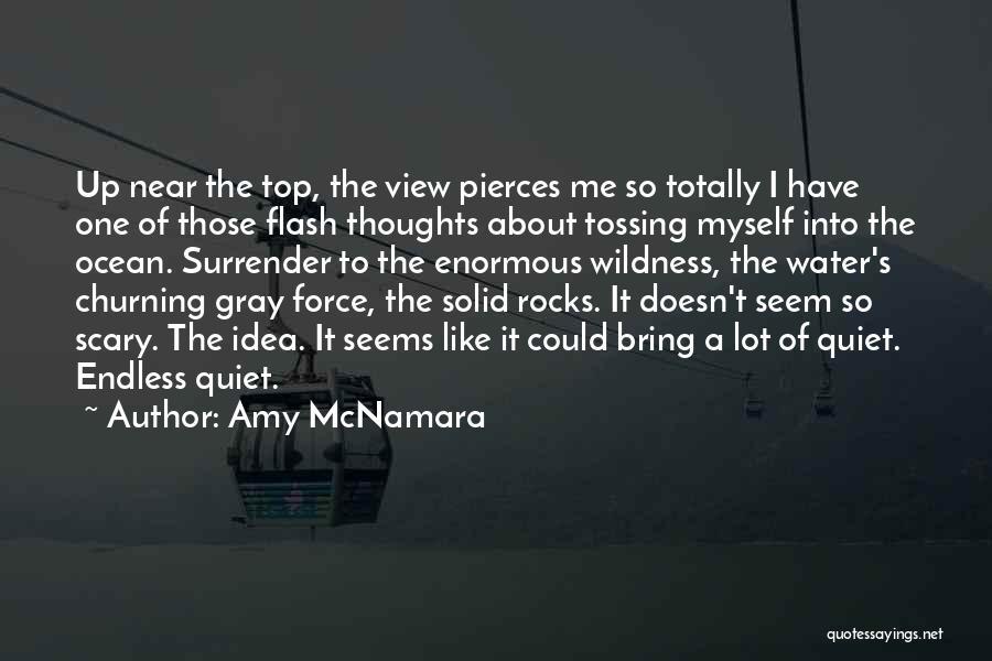 Ocean Water Quotes By Amy McNamara