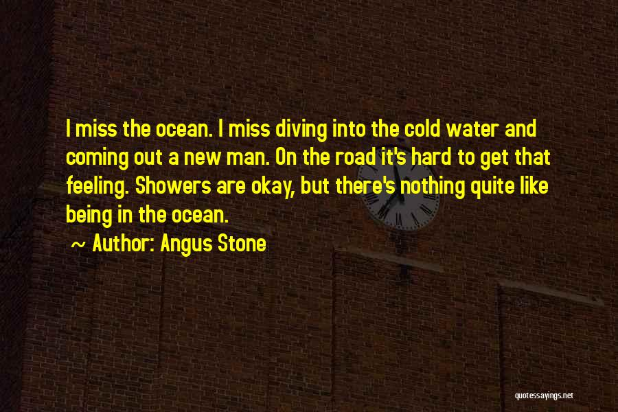 Ocean Water Quotes By Angus Stone
