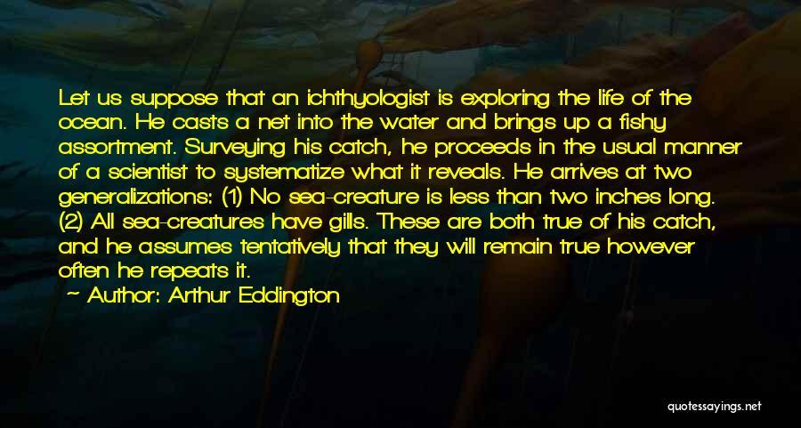 Ocean Water Quotes By Arthur Eddington