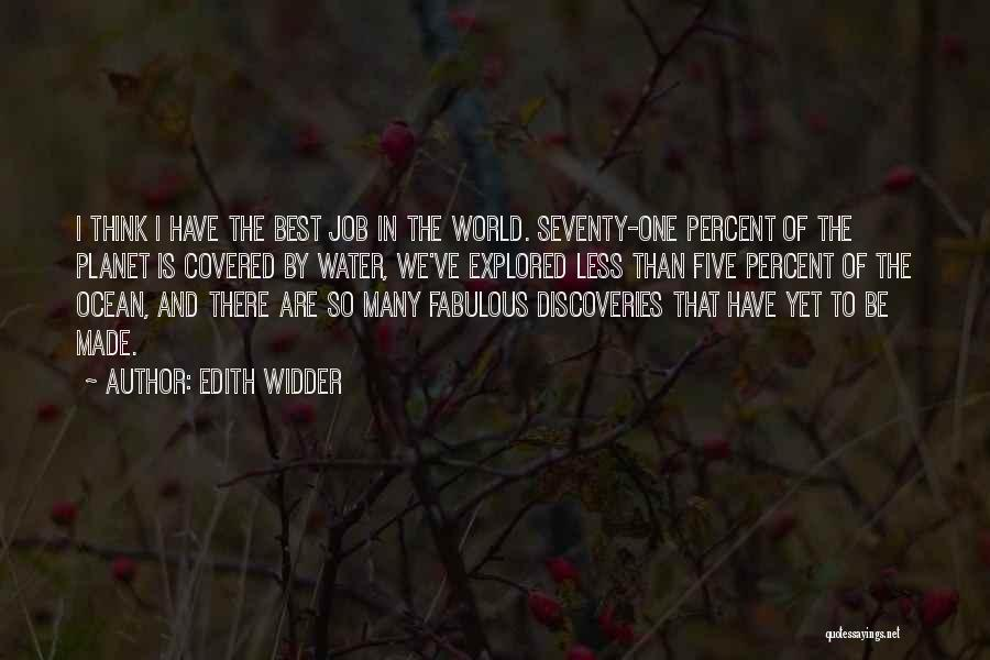 Ocean Water Quotes By Edith Widder